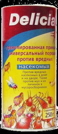 Делиция порошок от насекомых универсальный